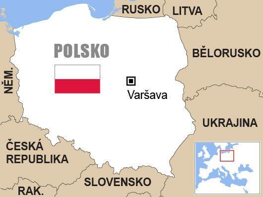 Výsledek obrázku pro polsko mapa