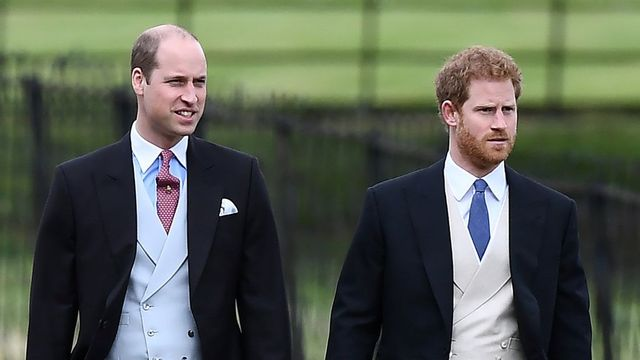 Princ William a princ Harry.