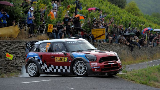 Daniel Sordo ve voze Mini WRC