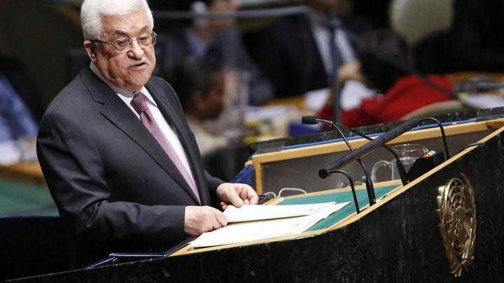Abbás vyzval v OSN k mezinárodní mírové konferenci. Usiluje o uznání Palestiny