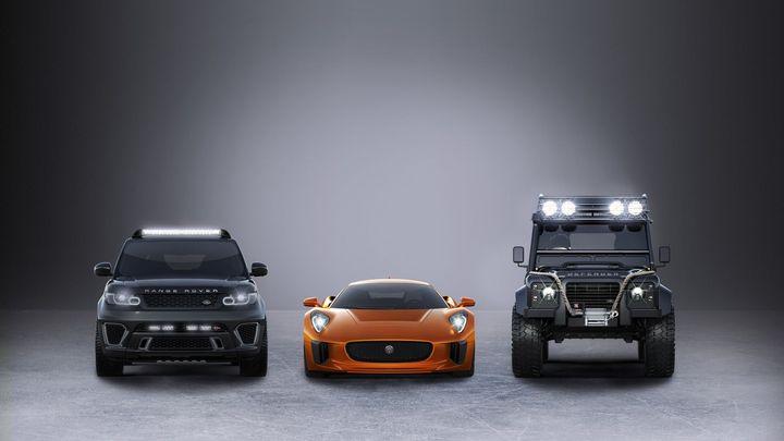 Nová auta Jamese Bonda. Ve filmu Spectre bude mít i Big Foot