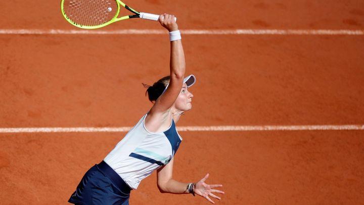 Skvělá forma Krejčíkové graduje. Stephensové povolila jen dvě hry a je ve čtvrtfinále; Zdroj foto: Reuters