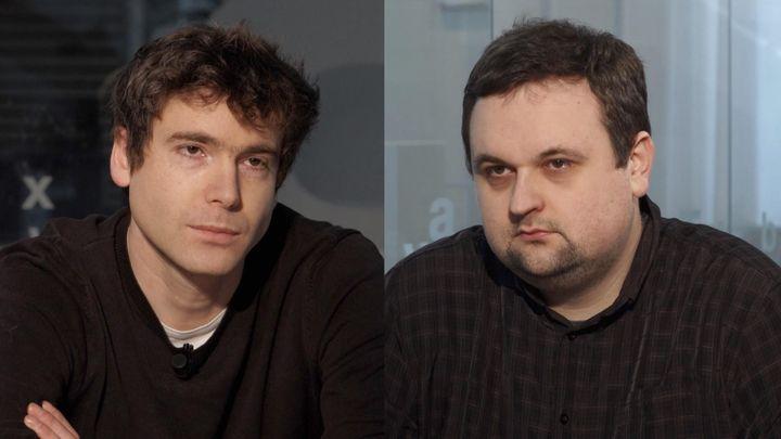 DVTV 14. 2. 2018: Jan Gebert; Jaromír Möwald