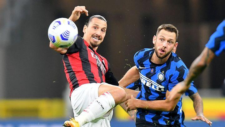 Nezastavil ho ani koronavirus. Uzdravený Ibrahimovic dvěma góly řídil milánské derby