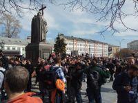 Opozice proti Putinovi skomírá. Chodorkovskij dostal do ulic Moskvy jen pár set lidí