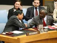 Myanmar, as the junta calls the country officially, has by and large been able to hold its own in UN Security Council, backed by its main regional sponsor China and Russia, which is suspicious of any Western-led drive against sovereign countries