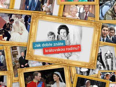 Královský kvíz: Kde se zamilovala Kate, čím byla Meghan a kdy se vdávala Diana?