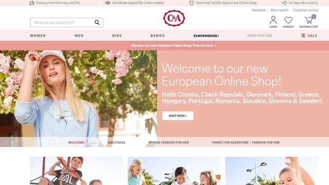 50b15d446f17 Řetězec C A spouští e-shop i pro Čechy. Výhodu jako Poláci a Rakušané ale  nemají
