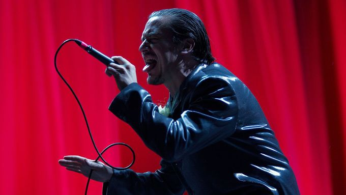 Mike Patton, frontman Faith No More.