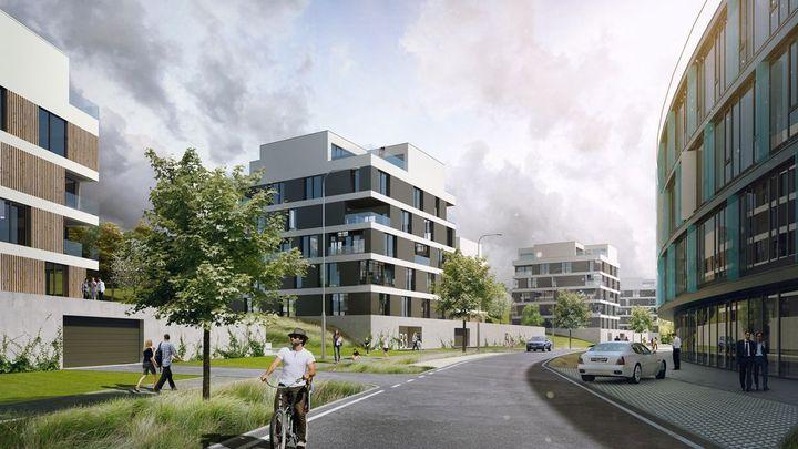 Byty jsou v Česku nejdražší v regionu, přesto nejdostupnější