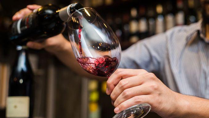 cesium 137 víno