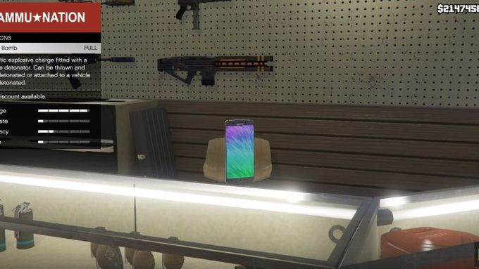 GTA 5 MOD - Samsung Galaxy Note 7 (Bomb)