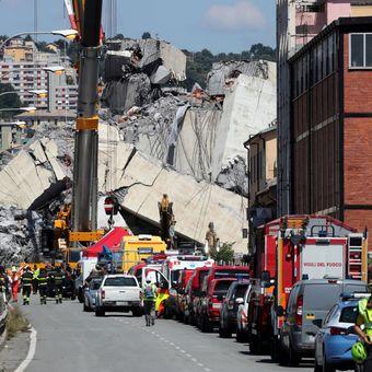 Počet obětí v Janově stoupl na 41. Záchranáři v troskách mostu našli další těla