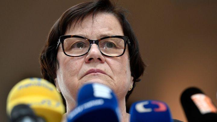 Ministryně Benešová obviňuje státní zástupce z úniků informací do médií
