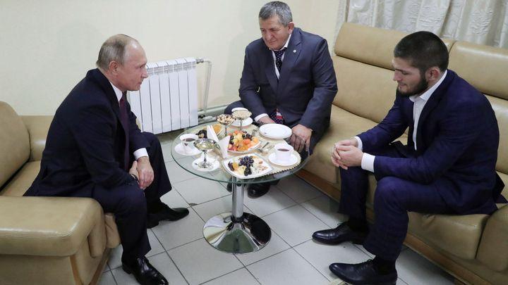 Putin se přimluví za Nurmagomedova. Ten ale po skandálu hrozí odchodem z UFC