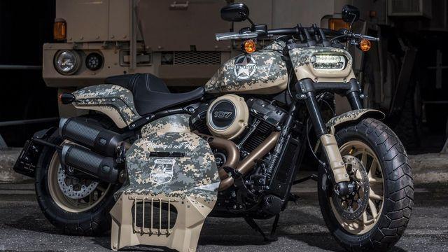 Snímatelný štít jako Kapitán Amerika. Nový Harley z české dílny uctívá  veterány c3afae2d2b