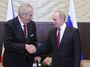 Zeman dostal památku na bitvu na Bílé hoře. Co tím chce Putin říct?