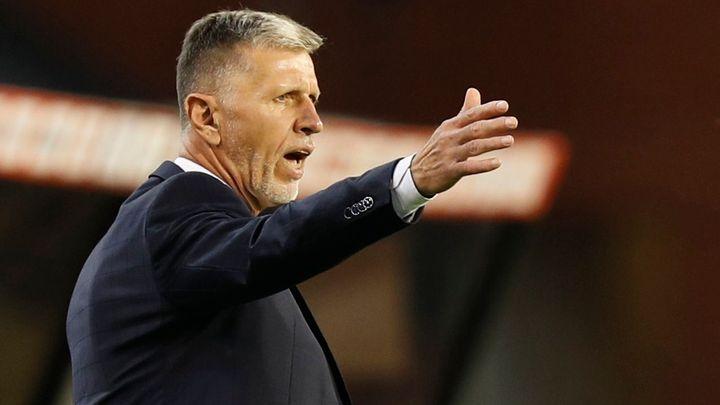 Česko - Ukrajina 1:1. Nerozhodný výsledek pro Čechy vystřelil v nastavení Vydra; Zdroj foto: Reuters
