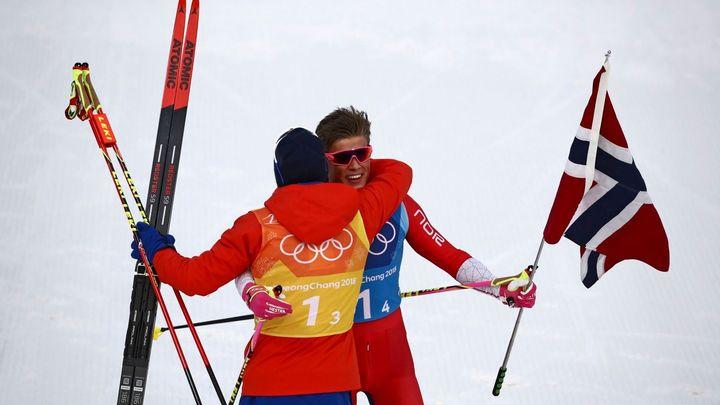 Olympijskou štafetu vyhráli Norové, Češi doběhli desátí