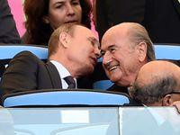 Putin: Sobečtí Američané se chtějí zbavit Blattera