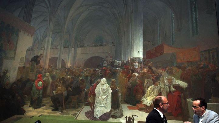 Slovanská epopej patří Praze, potvrdil odvolací soud. Mucha jejím vlastníkem nikdy nebyl