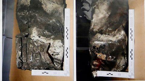 Druhá černá skříňka zříceného airbusu na fotografiích, které ukázala francouzská prokuratura. Našla se ve čtvrtek.
