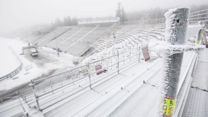 Kratší trať a sníh ze zásobníků. Jinak SP v Novém Městě nejde , říká šéf pořadatelů