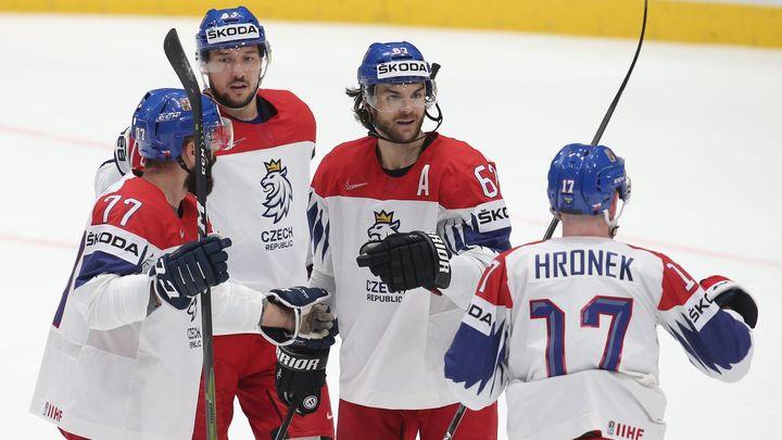 Češi si smlsli i na Rakousku, bezbrannému soupeři nasázeli osm gólů