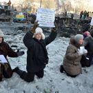 Deník z Majdanu. Mám pocit, že jsem na frontě