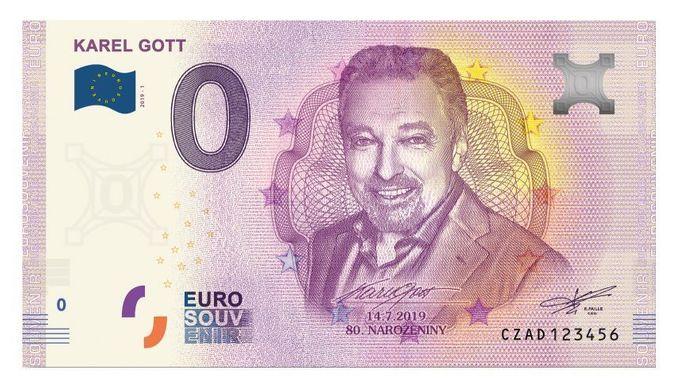 bankovka s karlem gottem
