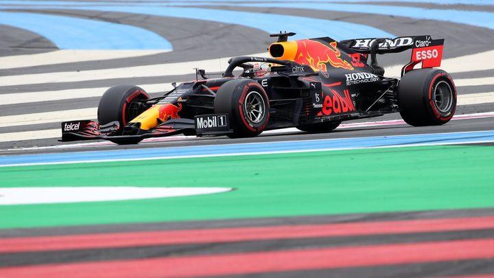 Verstappen v kvalifikaci na Velkou cenu Francie porazil Hamiltona