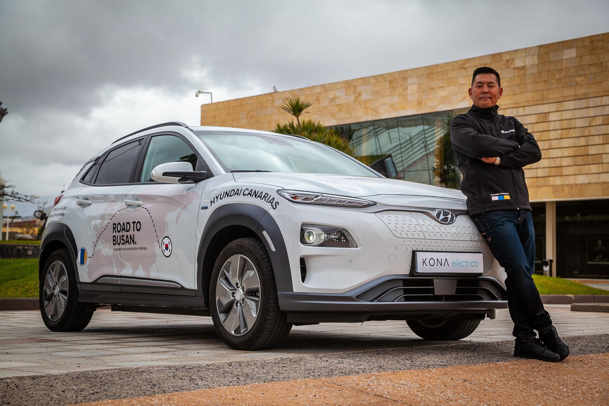 Hyundai Kona cesta do Koreje