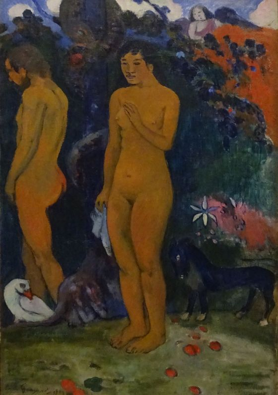 Paul Gauguin: Adam a Eva, 1902