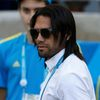 Colombia's Falcao looks on from the sidelines before their 2014 World Cup Group C soccer match against Greece at the Mineirao stadium in Belo Horizonte