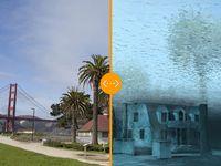 Foto: Taková hrozí zkáza. Podívejte se, co vše bude pod vodou, pokud se nezmírní globální oteplování