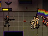 Zabijte novináře a postřílejte gaye, zachráníte tak Trumpa, láká neonacistická hra