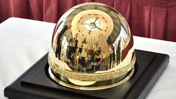 Zlatou přilbu si z Pardubic odvezl Polák Dudek, ukončil australské panování; Zdroj foto: Radek Vičík