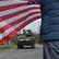 Americko-britský vojenský konvoj opustil v neděli odpoledne Českou republiku