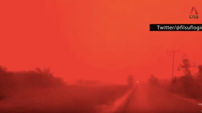 červený ponr