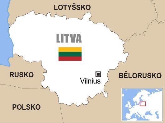 Výsledek obrázku pro litva mapa