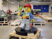 Lego v Kladně nabízí práci snů: Nabírá modeláře 3D soch