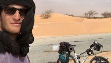 Český Ježíš na kole: Mladík objel západní Afriku, V Mali ho vítali, v Namibii málem ukamenovali