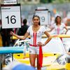 Porsche grid girls