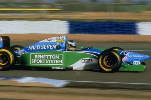 VIDEO Michael Schumacher, Silverstone 1994