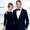 Jenson Button and his exwife Jessica