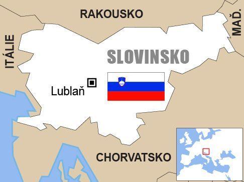 Výsledek obrázku pro slovinsko mapa