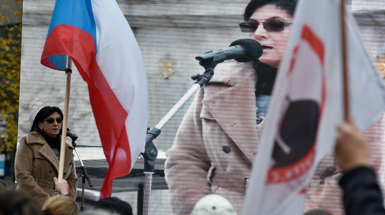 Samková srovnává islám s nacismem. Senátor ODS ji chce za zástupkyni ombudsmanky