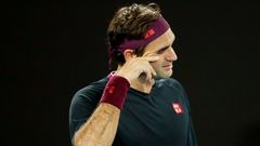 Tennis - Australian Open - Semi Final, Roger Federer