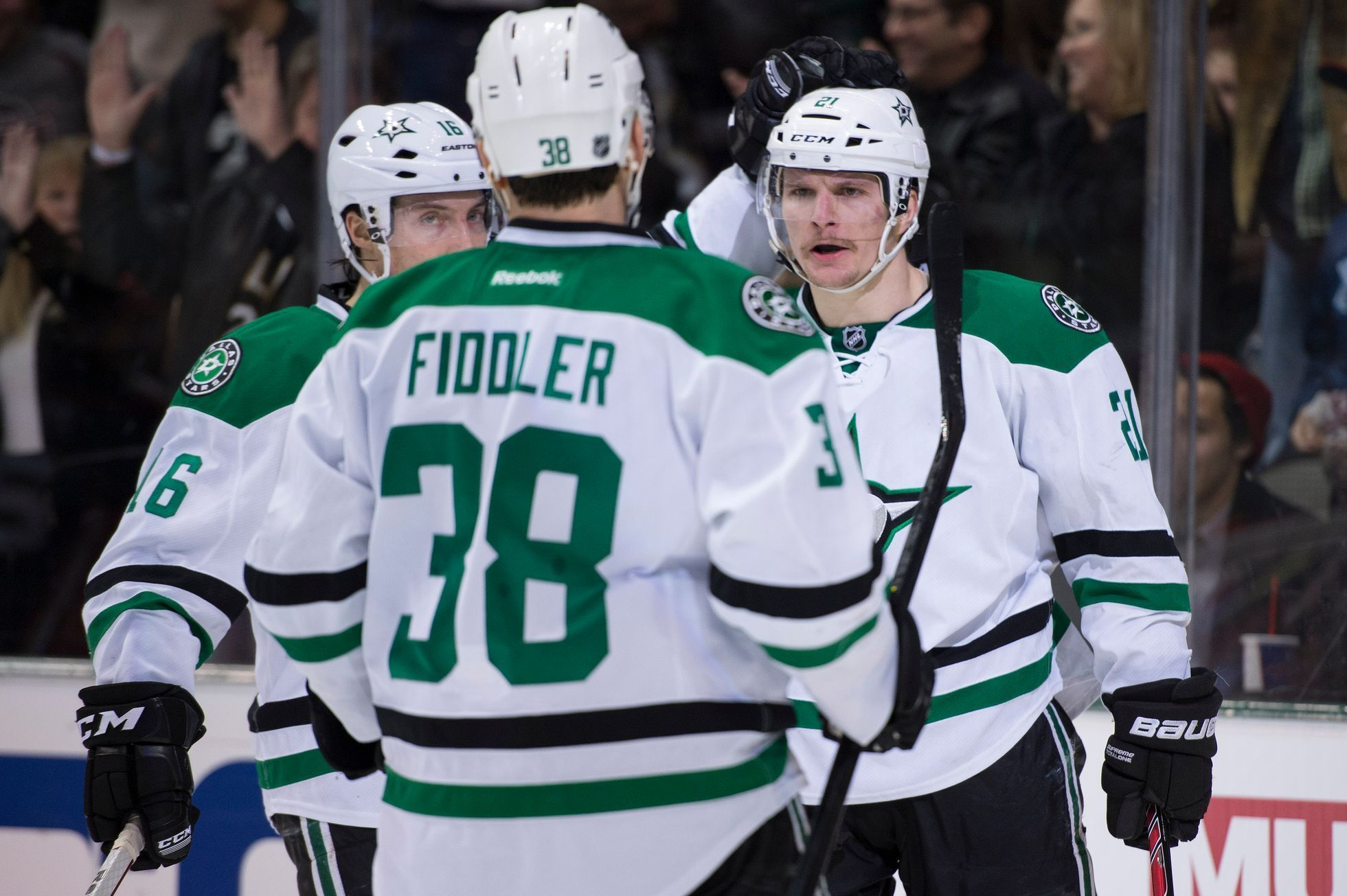 NHL: Anaheim Ducks at Dallas Stars (Roussel, Garbutt a Fiddler)
