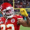Tyrann Mathieu slaví triumf Kansas City Chiefs ve finále Super Bowlu LIV (2020)